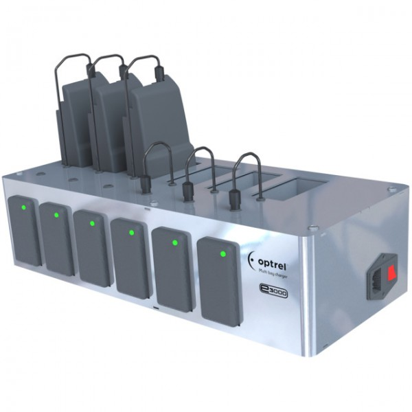 Multi-Ladestation für 6 Batterien (e3000)
